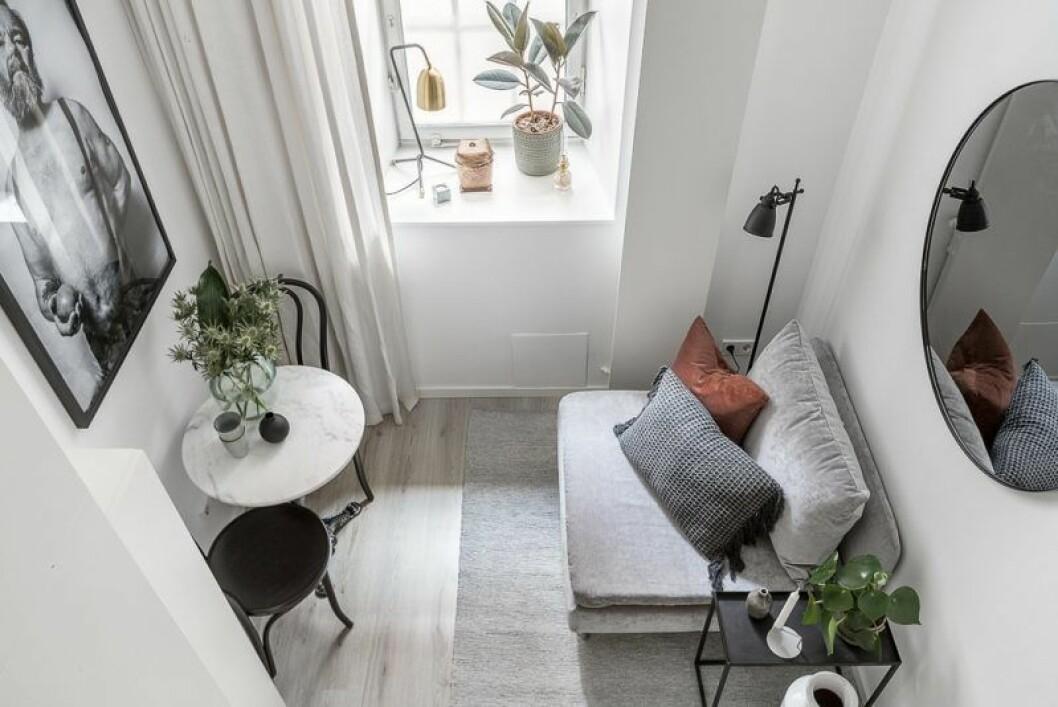 Liten lägenhet inredning