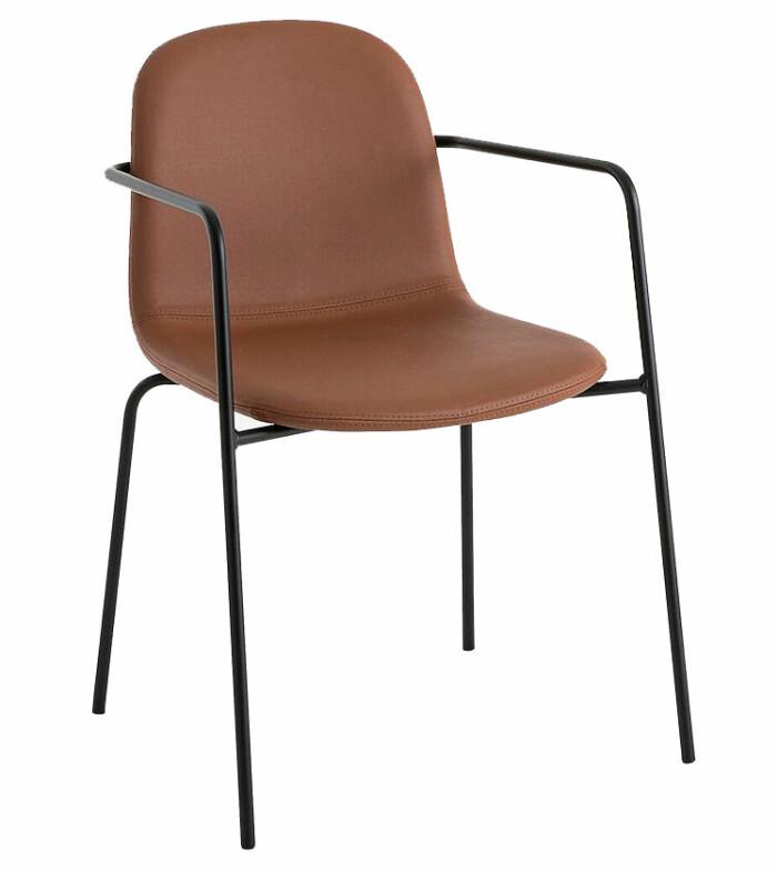 stol i läder kontor