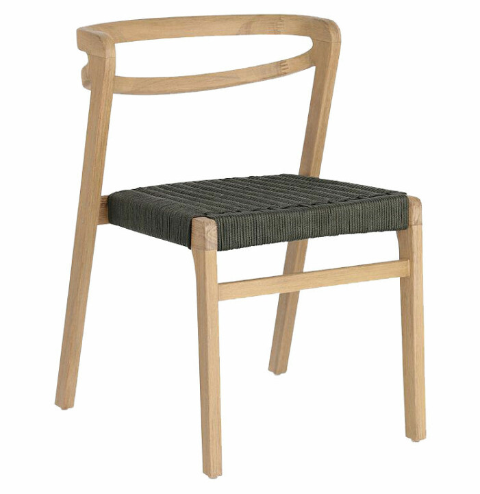 stol utemöbel trä