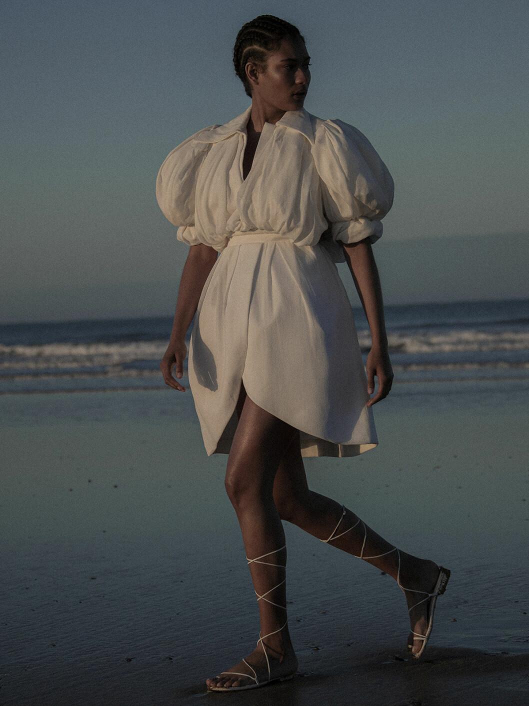 Sommarens strandmode 2020, klänning Louis Vuitton