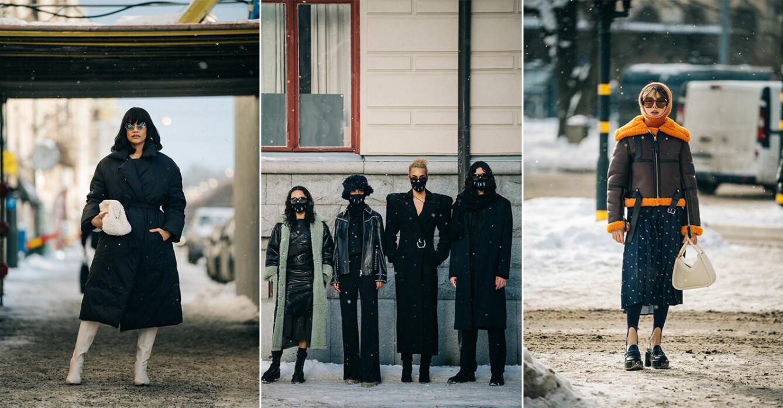 streetstyle stockholm fashion week 2021.