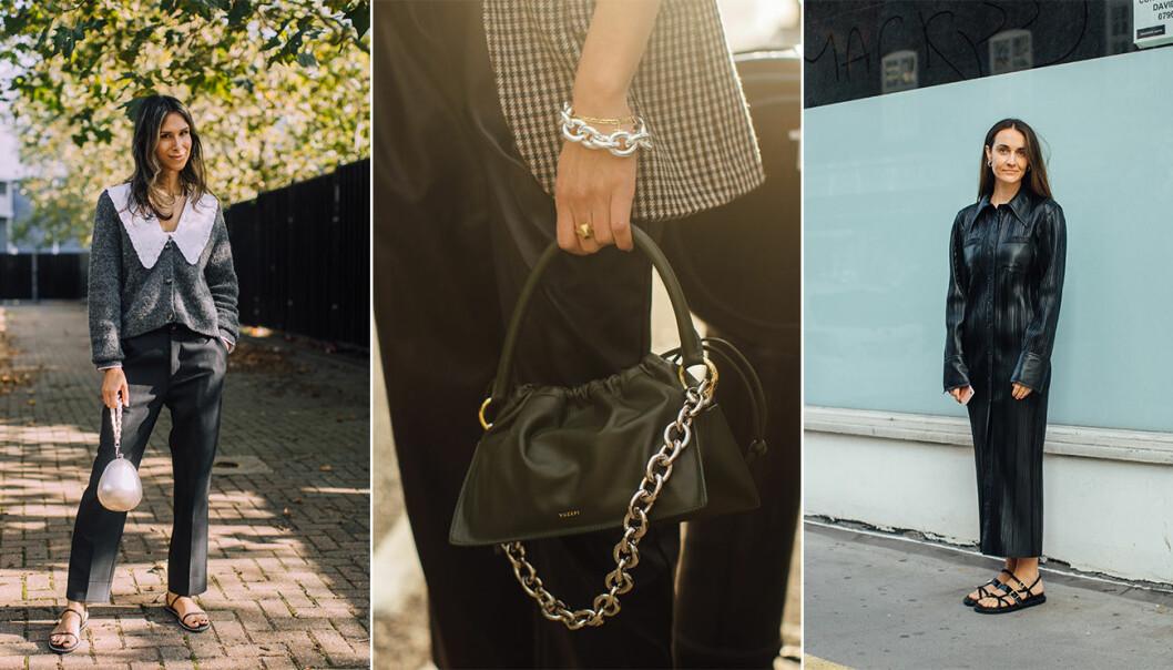 Nyckelplagg att satsa på enligt London Fashion Weeks streetstyle ss21