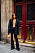Streetstyle Paris fashion week grått.