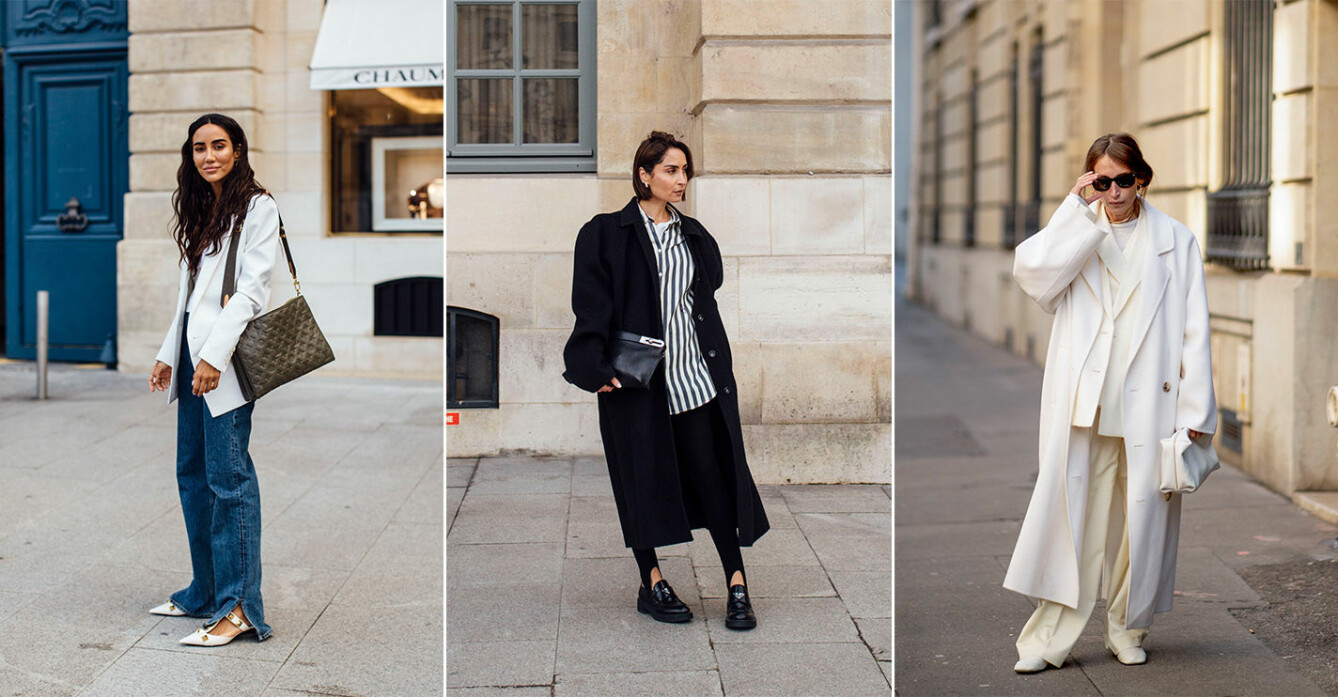 chic streetstyle-inspiration från Paris fashion week aw21