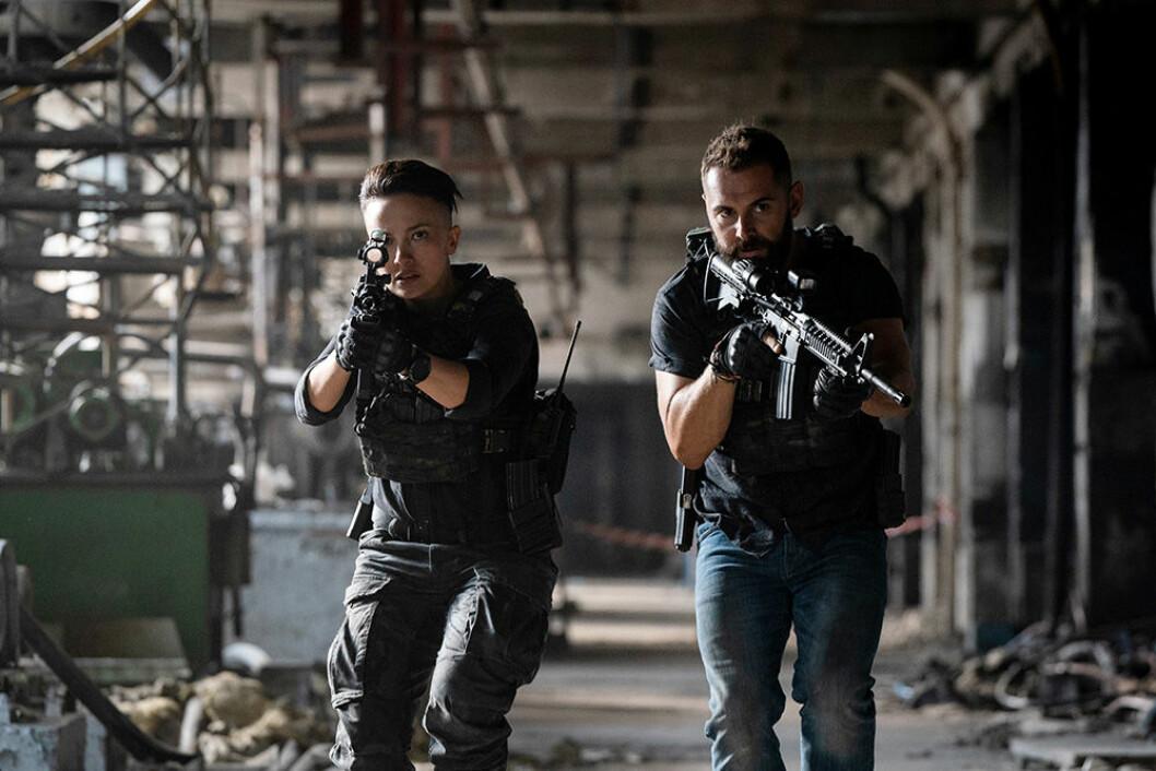 En bild från tv-serien Strike Back, som har premiär på HBO den 15 februari.