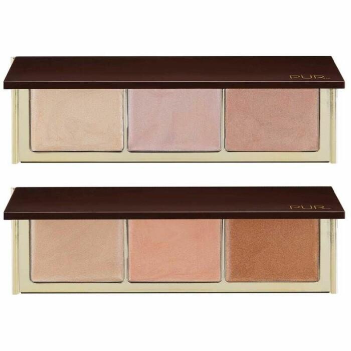 Strobe Palette från Pür Cosmetics recension highlighter omdöme betyg