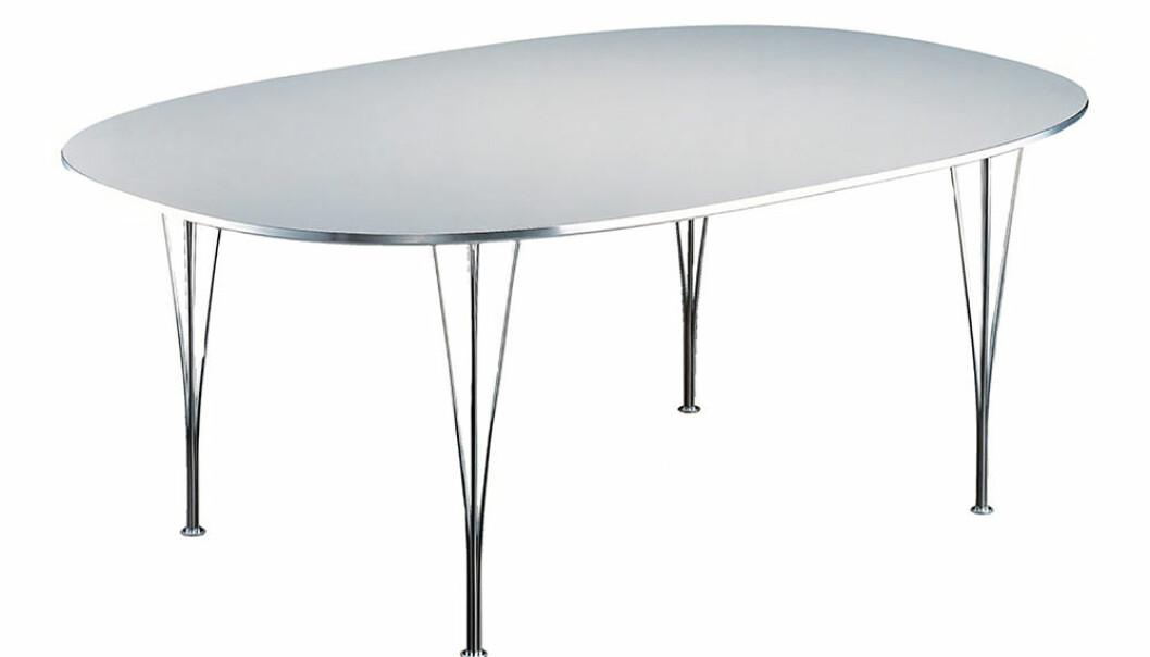 superellips b617 bord från fritz hansen
