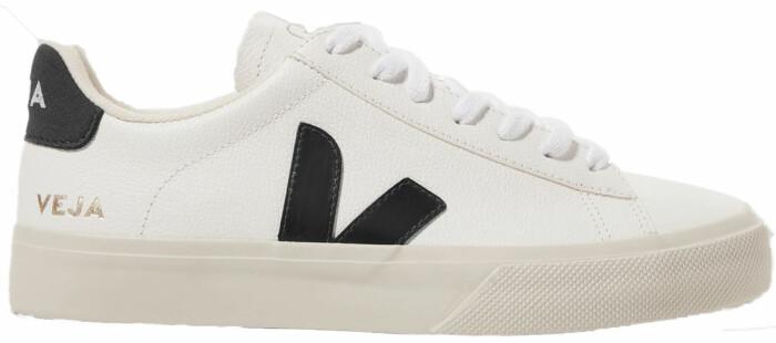 svart/vit sneaker veja