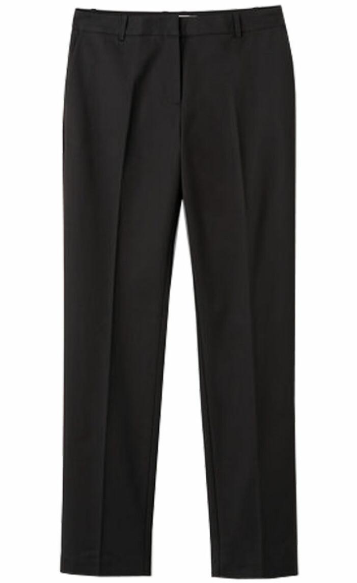 snygga svarta kostymbyxor