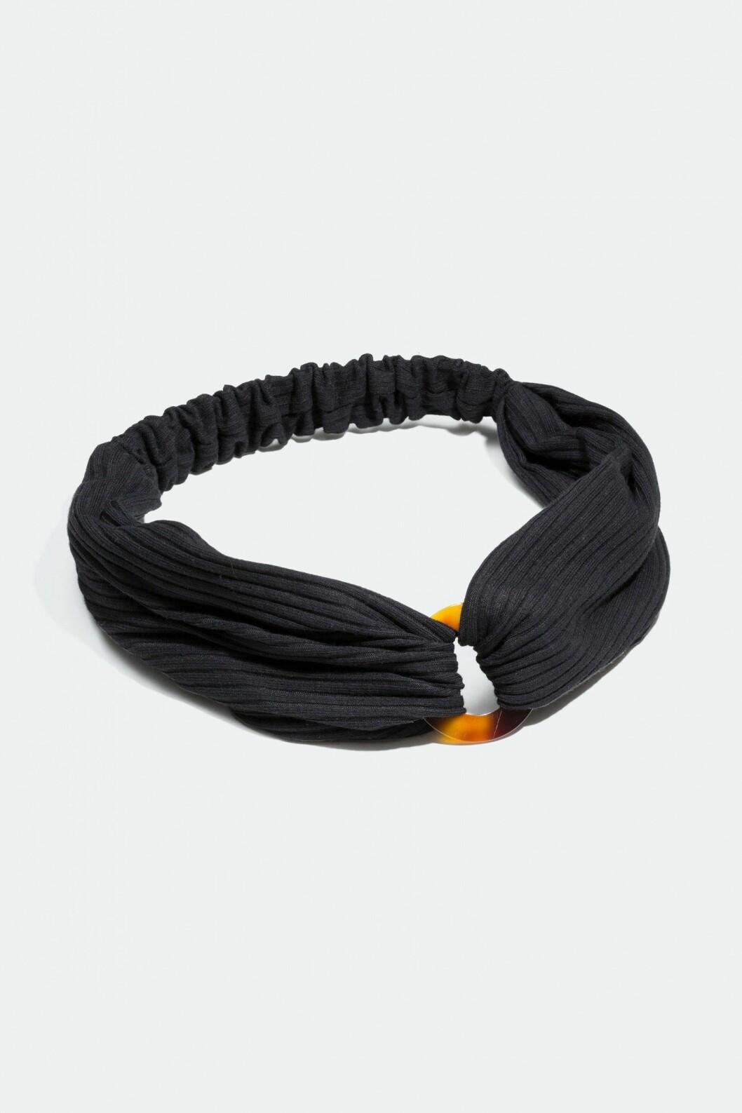 Mörkt hårband