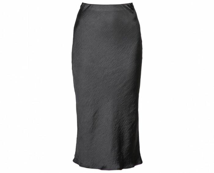 svart kjol basgarderob dam 2021