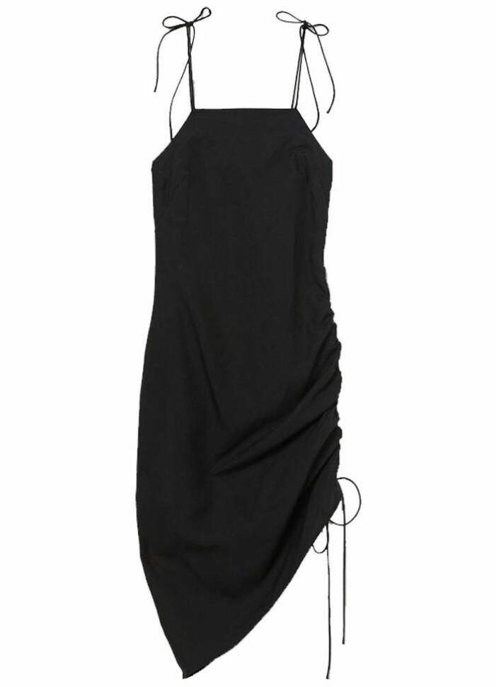 svart slipklänning