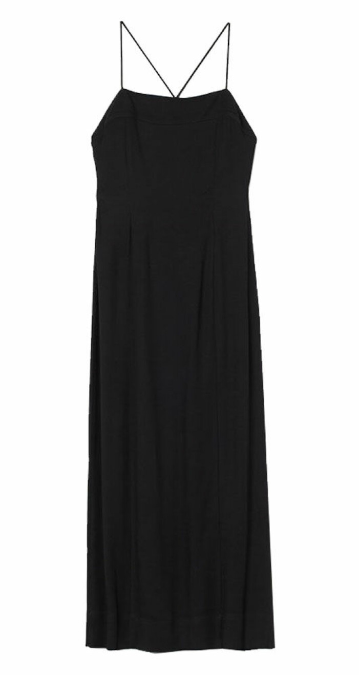 svart klänning från H&M