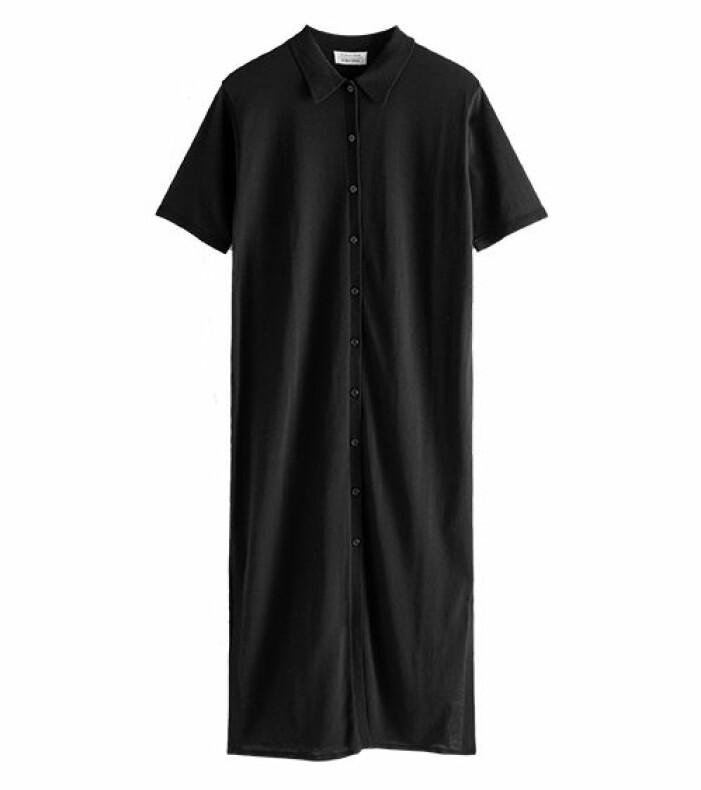 svart klännning