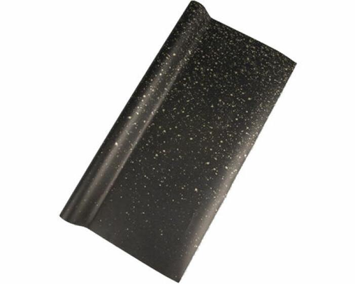 svart presentpapper mönster jul