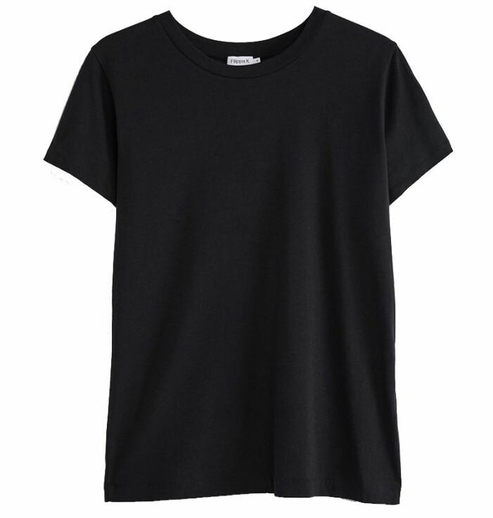 svart t-shirt filippa k