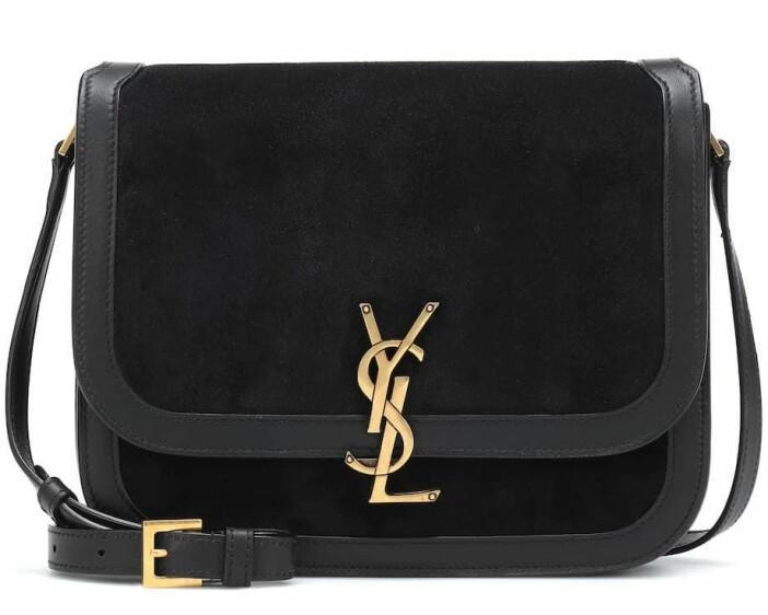 svart väska från Saint Laurent.