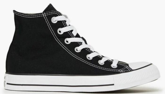 svarta converse