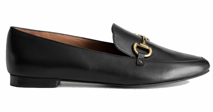 svarta loafers & other stories