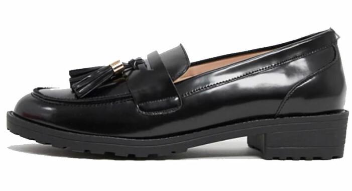 svarta loafers raid