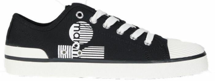 Svarta sneakers från Isabel Marant som finns att köpa i fler färger här.