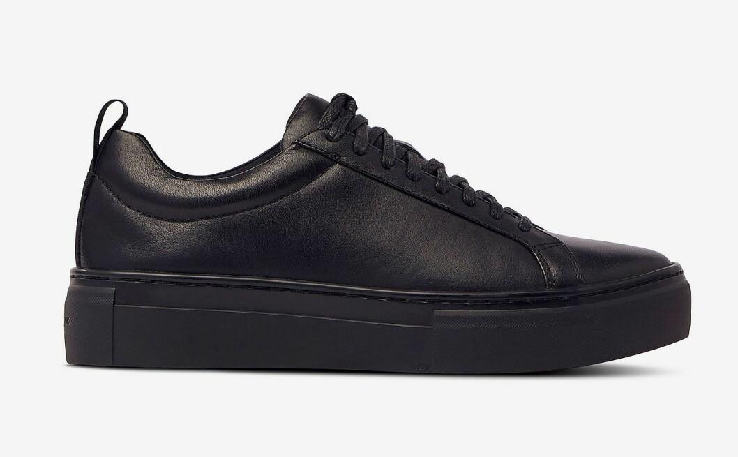 Svarta sneakers i skinn från Vagabond