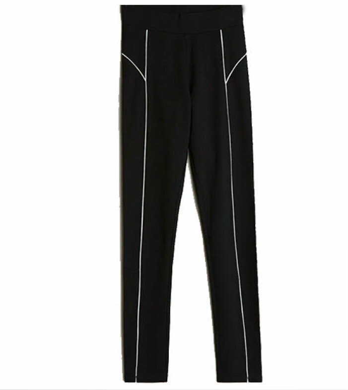 svarta tights