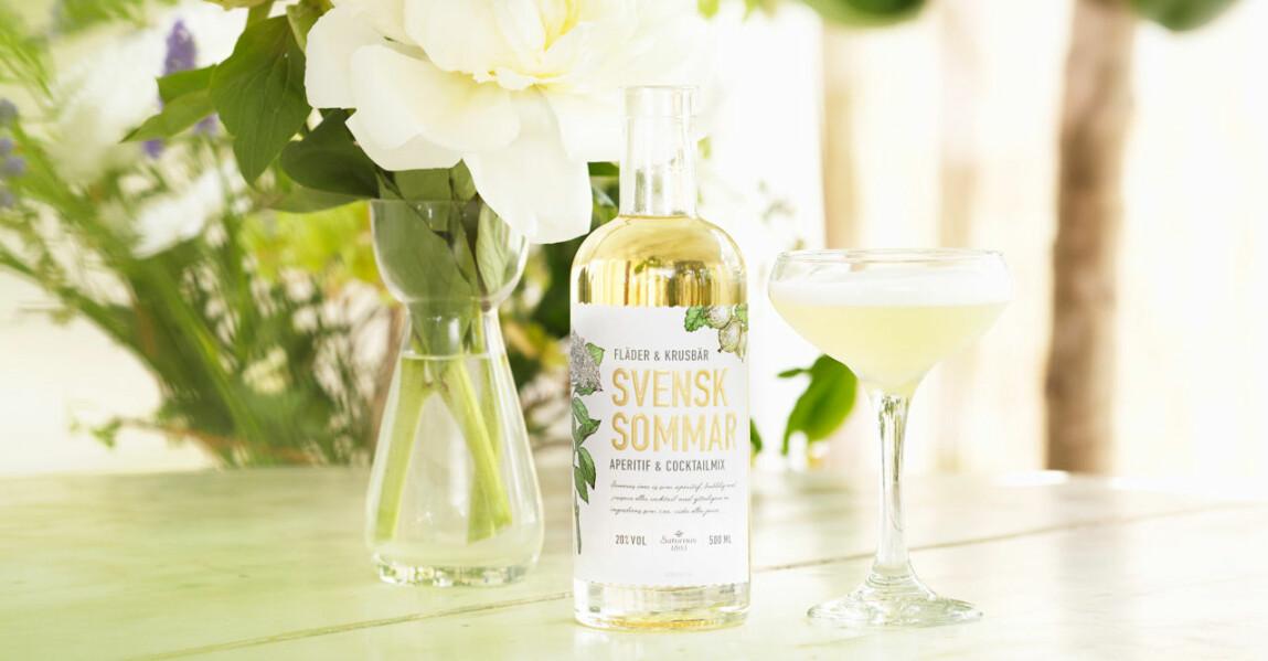 En flaska med Svensk sommar