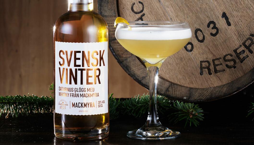 Svensk Vinter – glögg från Saturnus spetsad med whisky från Mackmyra!
