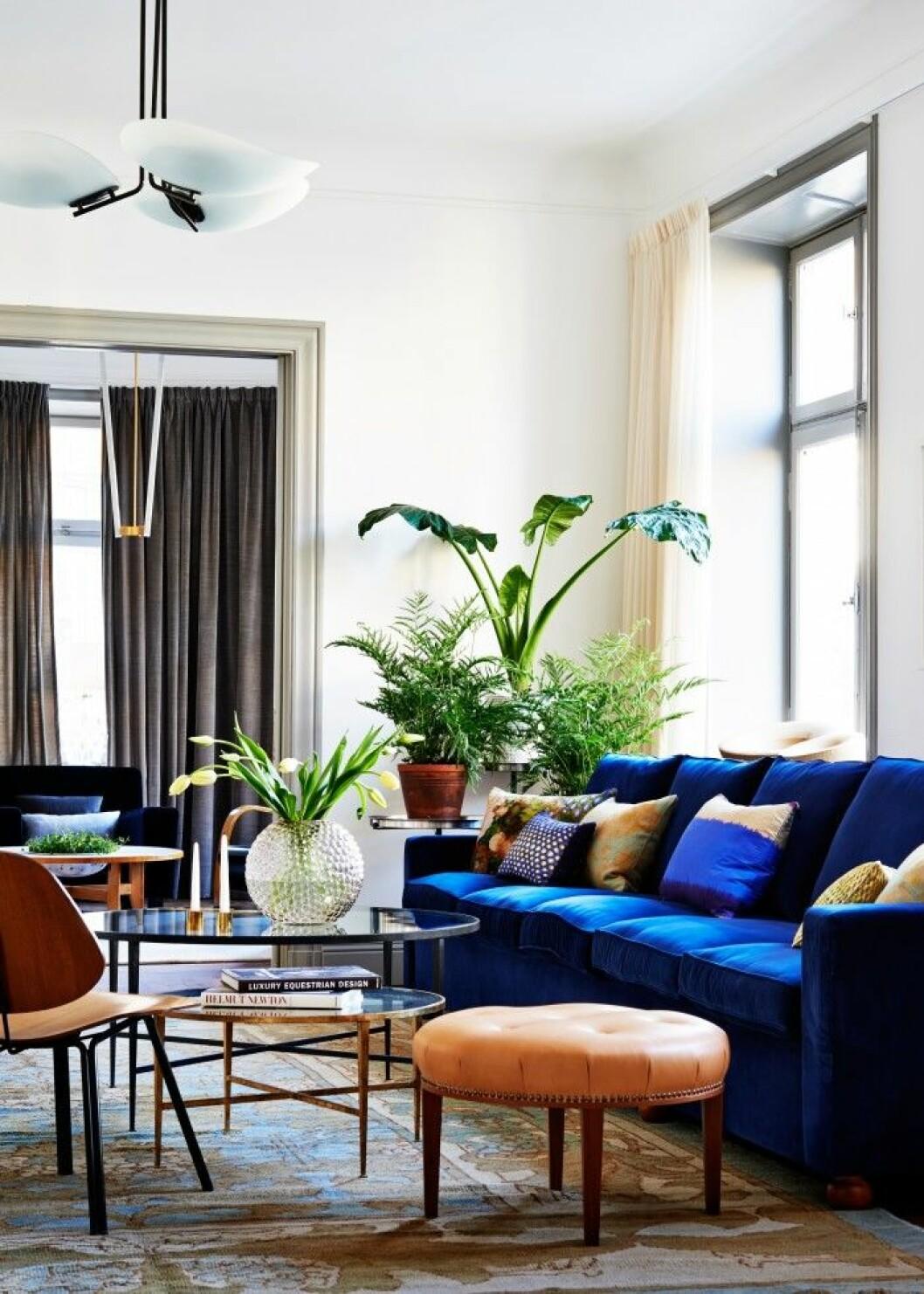 Svenskt Tenn inredde denna lägenhet.