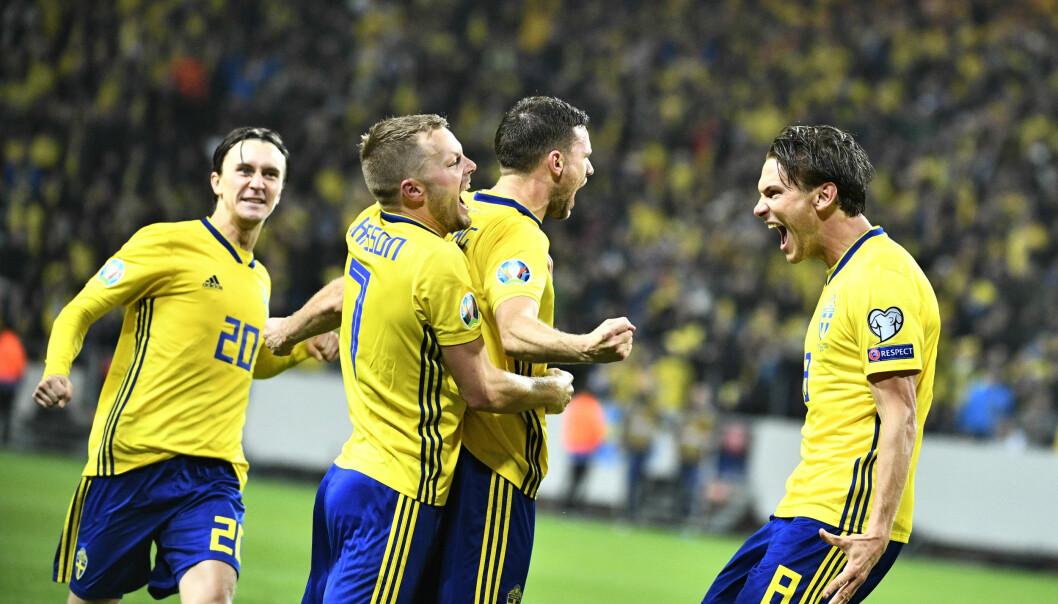 Sverige kvalar in till fotbolls-EM 2021.