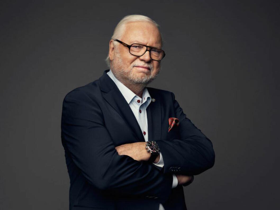 "Leif Mannerström i ""Sveriges mästerkock 2016""."