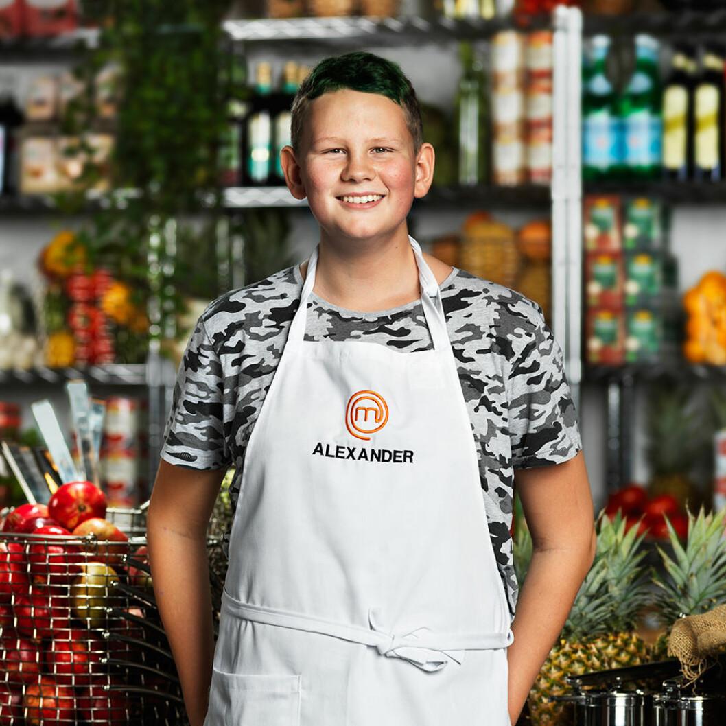 Alexander Andersson, 12 år, Ystad.