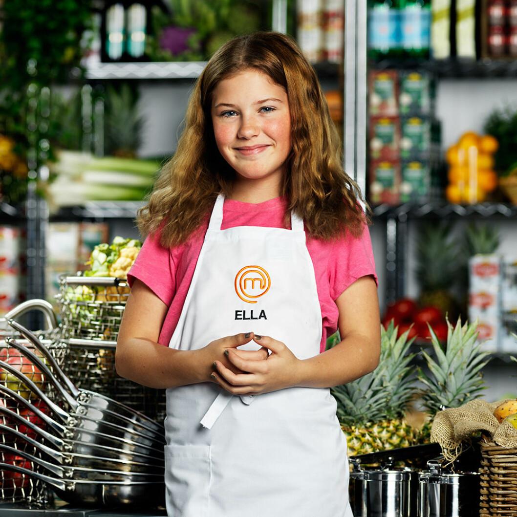 Ella Knapp Johnson, 11 år, Stockholm.
