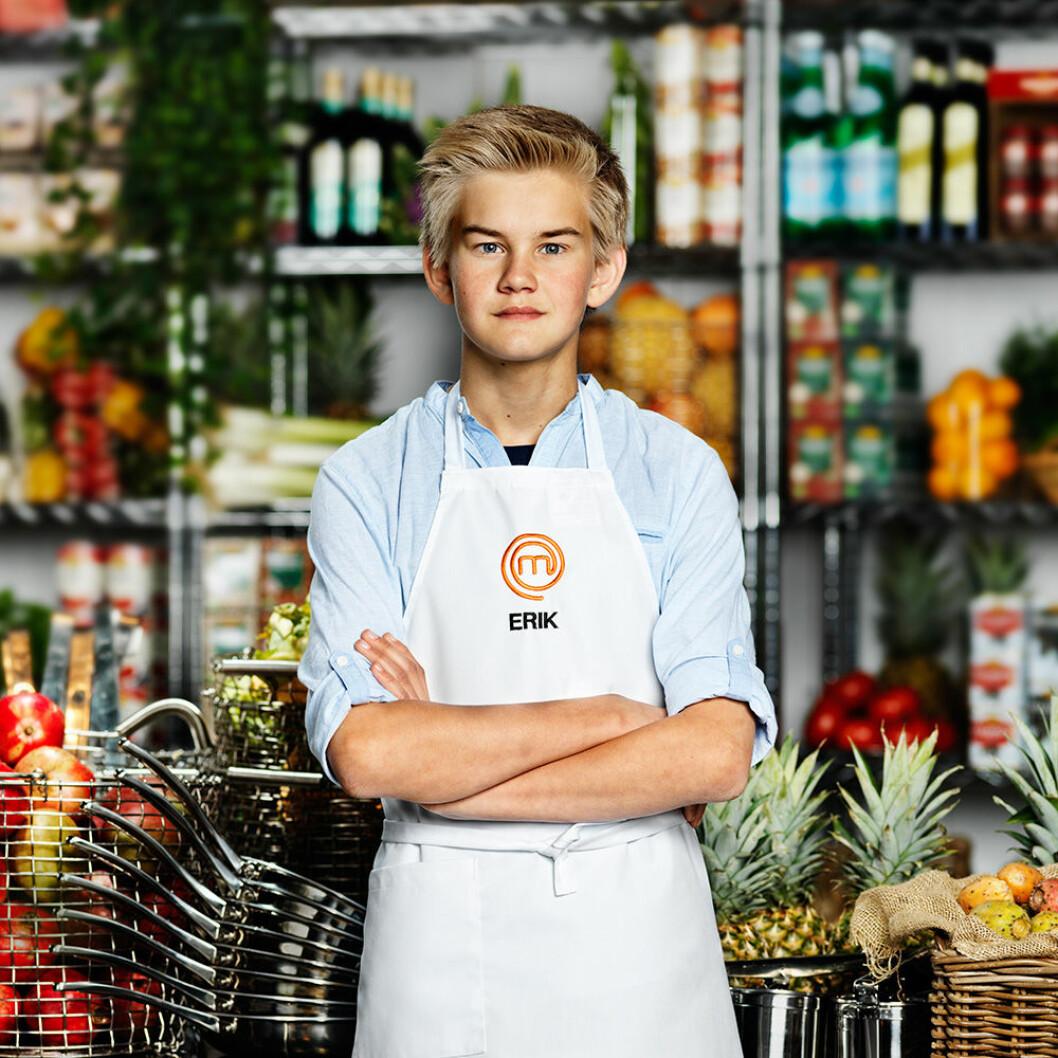 Erik Löfholm, 12 år, Falköping.