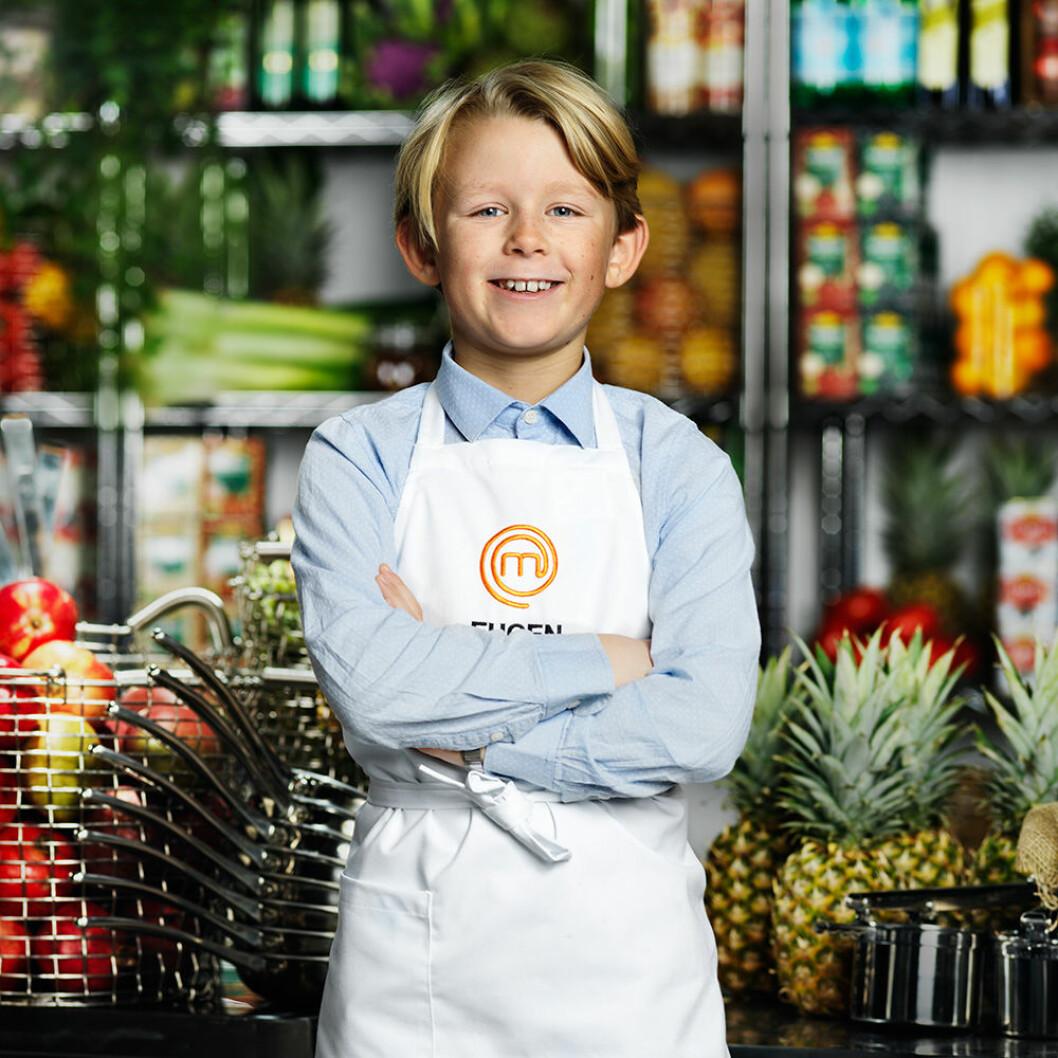 Eugen Enqvist, 9 år, Stockholm.