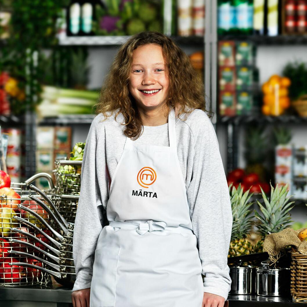 Märta Jobeus, 12 år, Stockholm.