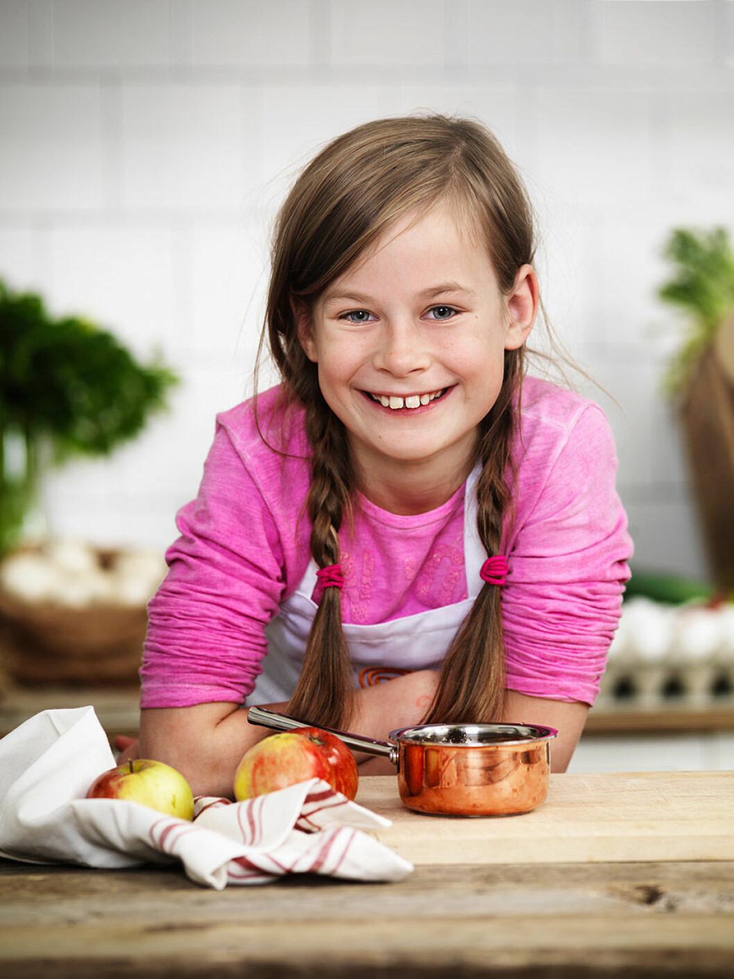Elina Larsson, 11 år, Järfälla.