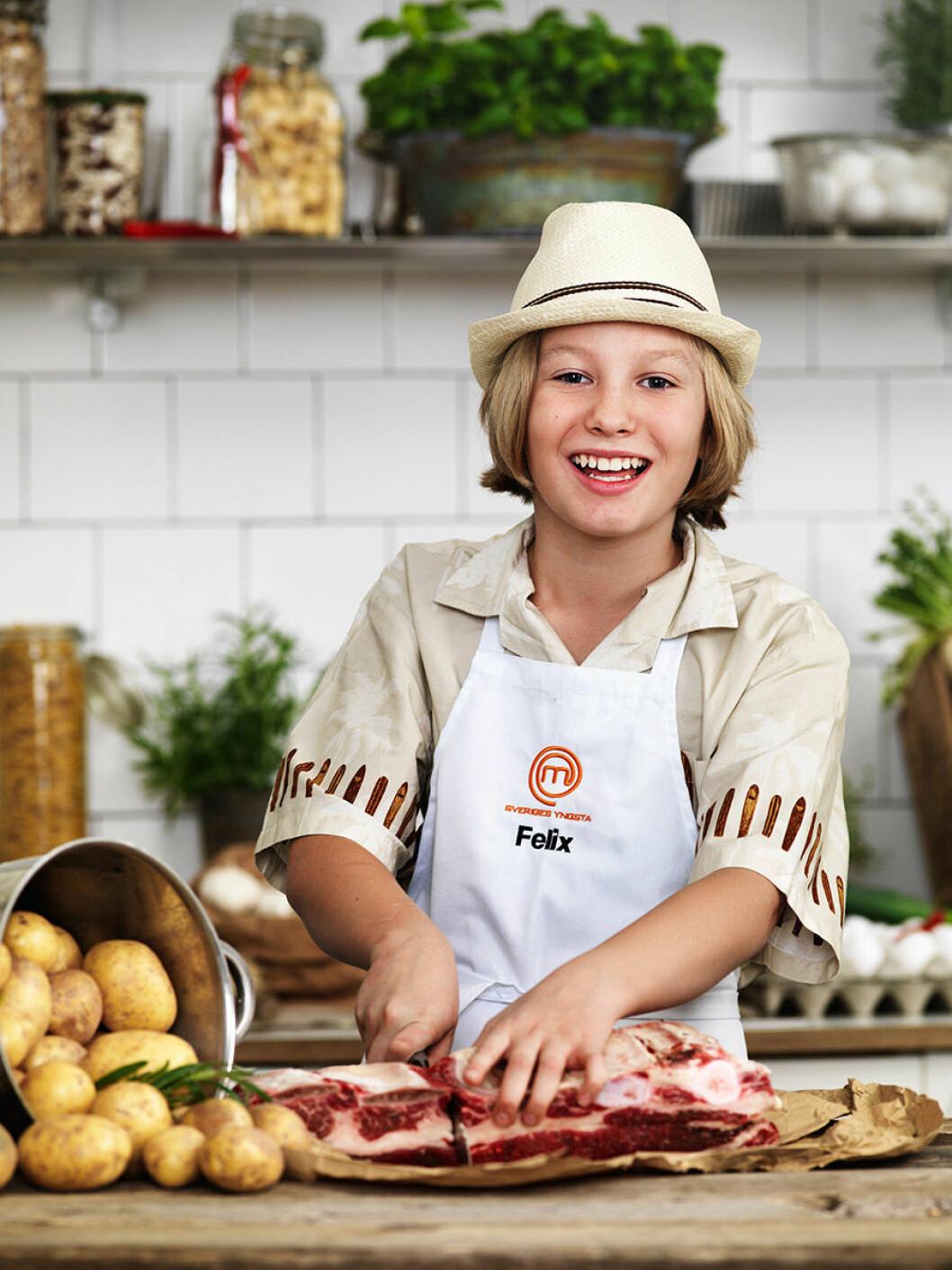Felix Lindström, 11 år, Stockholm.