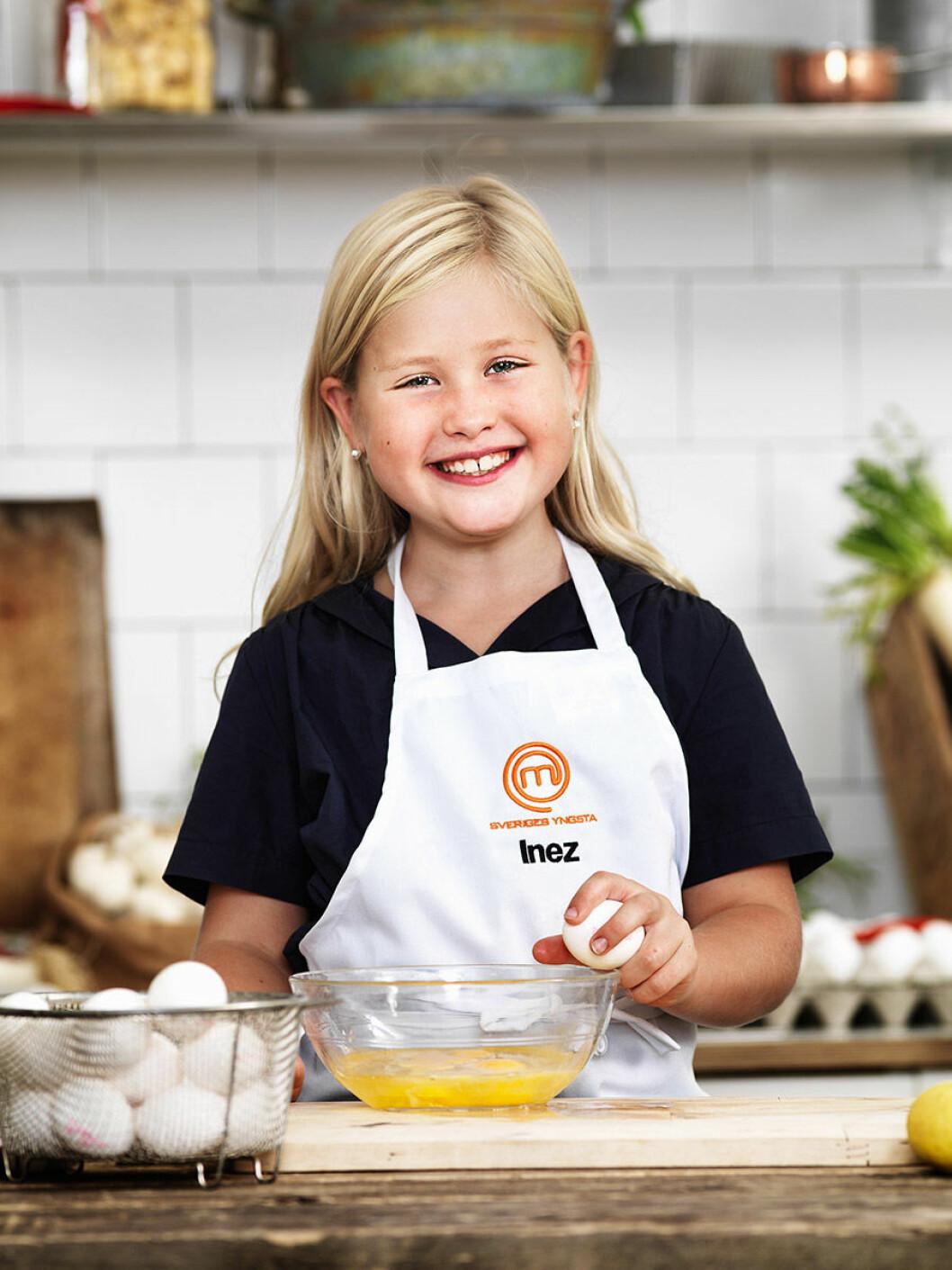 Inez Lindfeldt, 9 år, Stockholm.