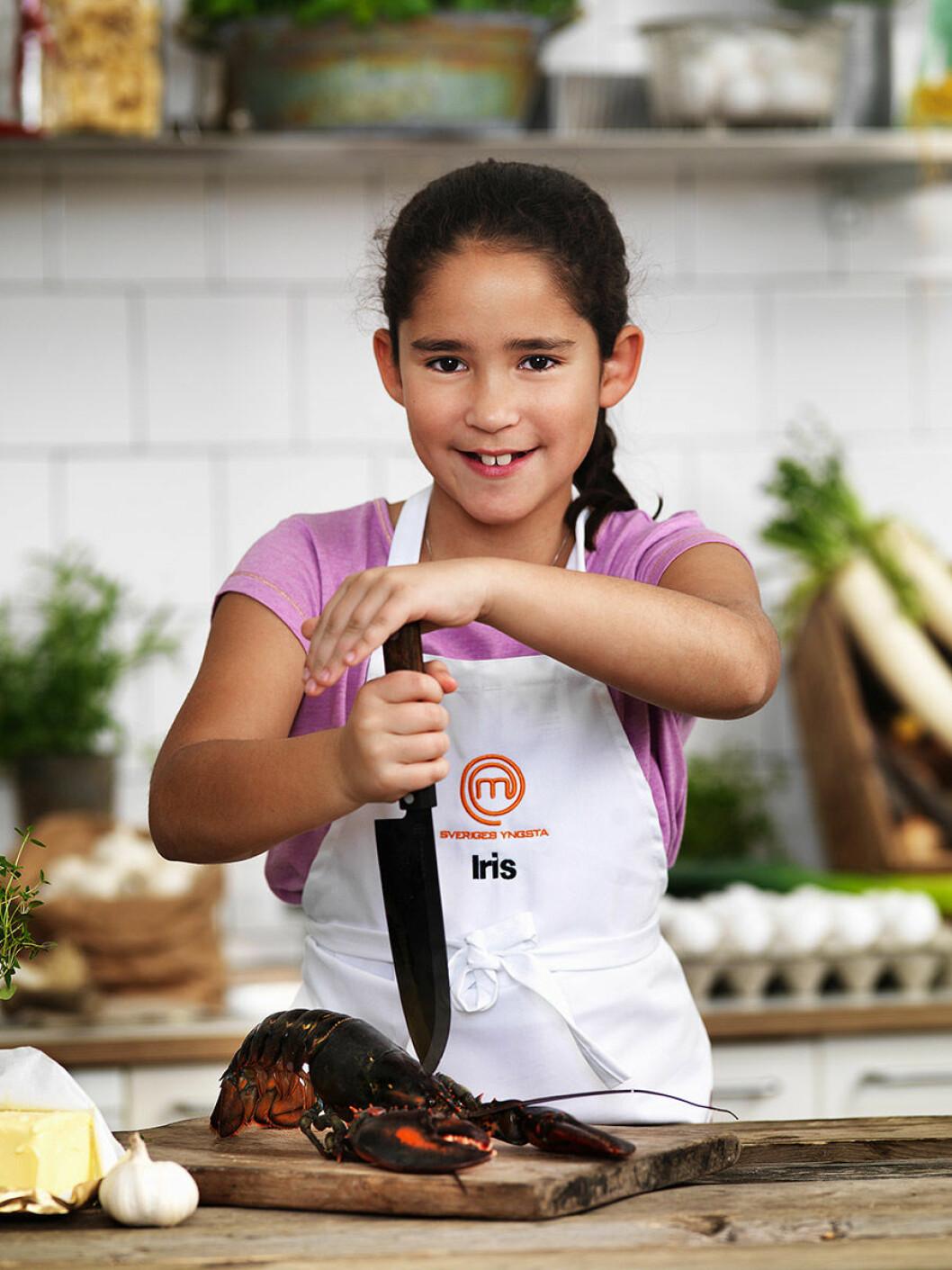 Iris Macias, 10 år, Lidingö.