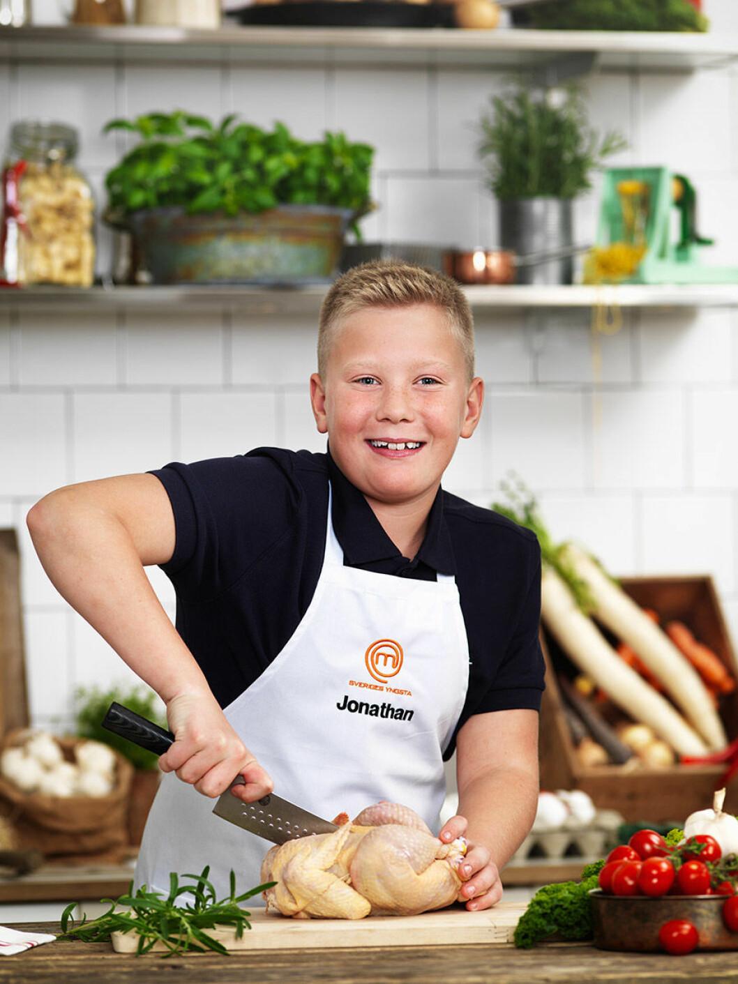 Jonathan Öhlund, 11 år, Söderköping.