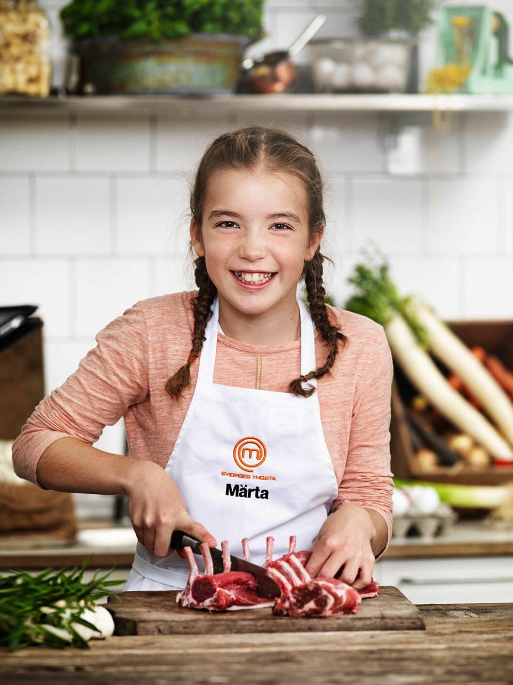 Märta Hagelin, 12 år, Stocksund.