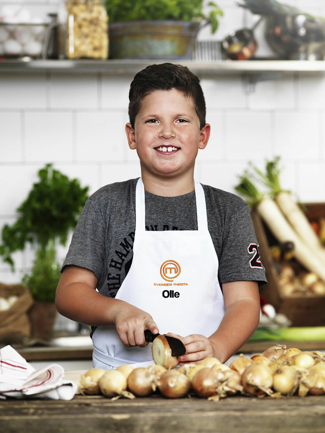 Olle Harbrecht, 9 år, Linköping.
