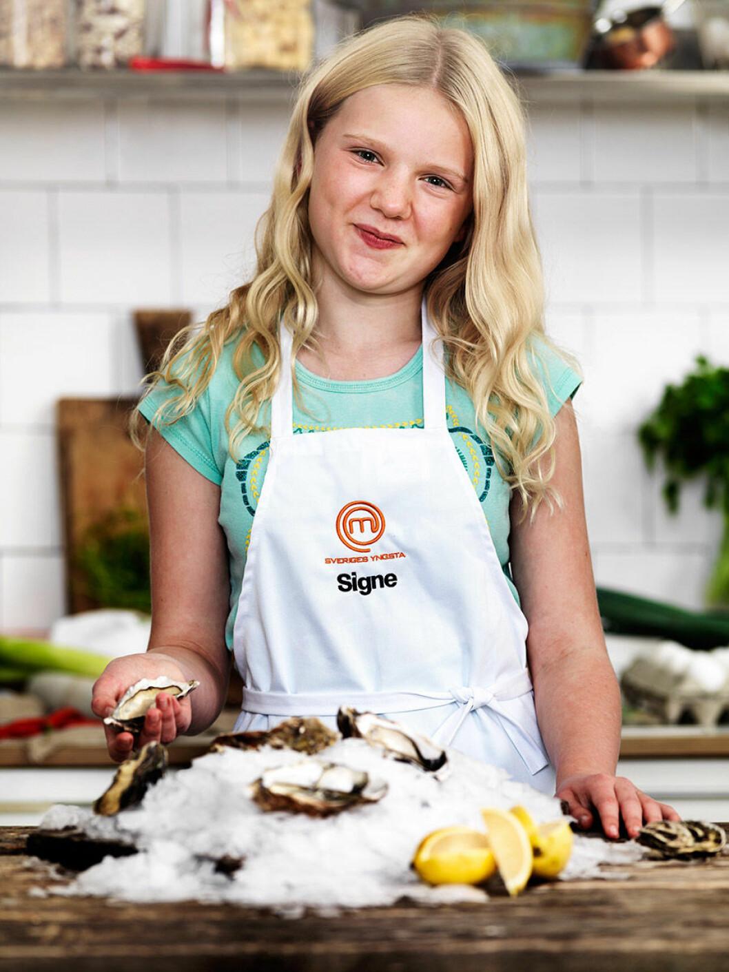 Signe Strålin, 12 år, Botkyrka.