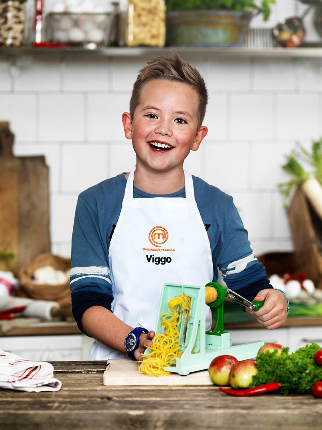 Viggo Kendrup, 11 år, Helsingborg.