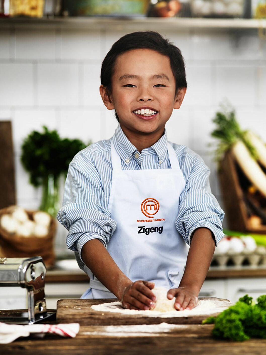 Zigeng Zhang, 10 år, Sigtuna.