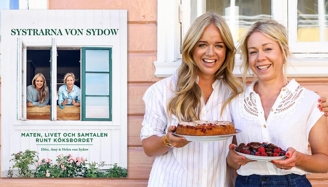 Systrarna von Sydow har gett ut en ny kokbok.
