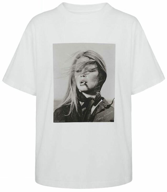 T-shirt med print från Anine Bing.