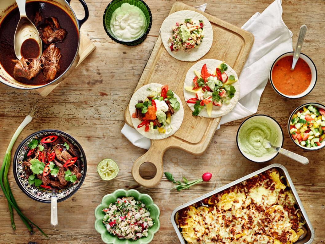 Tacos för alla smaker!